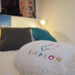 Hotel Du Simplon 2* Стандартный номер с различными типами кроватей фото 8