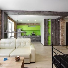 Апартаменты PaulMarie Apartments on Pravdy комната для гостей