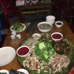 Отель Hoa Chanh Homestay питание фото 2