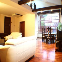 Отель Hevelius Residence Улучшенные апартаменты с различными типами кроватей фото 9