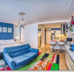 Апартаменты VIP Studio Castle комната для гостей фото 2