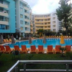 Отель Yassen Болгария, Солнечный берег - отзывы, цены и фото номеров - забронировать отель Yassen онлайн бассейн