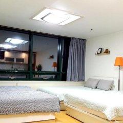 SH Seoul Hostel Стандартный семейный номер с двуспальной кроватью фото 2