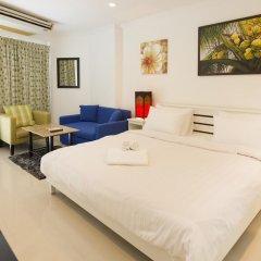 Отель VT 1 Serviced Apartments Таиланд, Паттайя - отзывы, цены и фото номеров - забронировать отель VT 1 Serviced Apartments онлайн комната для гостей фото 5