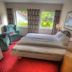 Отель Hotell Utsikten Geiranger - by Classic Norway 2* Стандартный номер с двуспальной кроватью