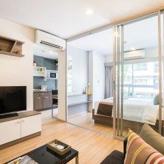 Отель The Grass Serviced Suites by At Mind Люкс с различными типами кроватей фото 7