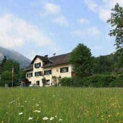 Отель Gasthof Fürstenbrunn Грёдиг приотельная территория