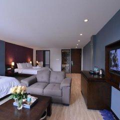 Hanoi Emerald Waters Hotel Trendy 3* Семейный люкс с двуспальной кроватью фото 2