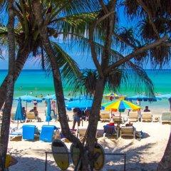 Отель Phuket Chaba Hotel Таиланд, Пхукет - 1 отзыв об отеле, цены и фото номеров - забронировать отель Phuket Chaba Hotel онлайн пляж фото 2
