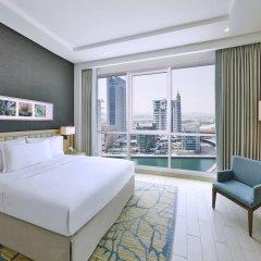 Отель DoubleTree by Hilton Dubai Jumeirah Beach 4* Семейный люкс с двуспальной кроватью