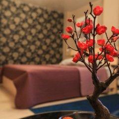 Гостиница Цветы Полулюкс разные типы кроватей фото 19