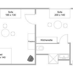 Апартаменты Patarei Apartment Таллин парковка