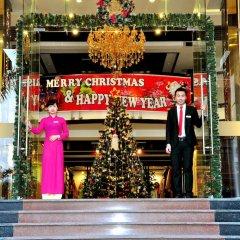 Muong Thanh Three Star Hotel Халонг интерьер отеля фото 2