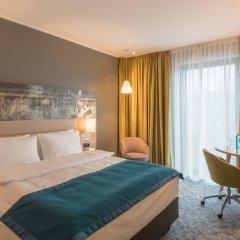 Отель Holiday Inn Dusseldorf City Toulouser Allee 4* Улучшенный номер с различными типами кроватей фото 2