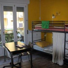 Отель European Rooms 3* Кровать в общем номере фото 4