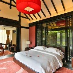 Отель Banyan Tree Lijiang 5* Вилла разные типы кроватей фото 11