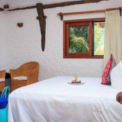 Отель Las Nubes de Holbox 3* Бунгало с различными типами кроватей