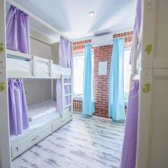 Волхонка хостел Кровать в общем номере с двухъярусными кроватями фото 22