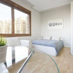 Отель SanSebastianForYou Zurriola Apartment Испания, Сан-Себастьян - отзывы, цены и фото номеров - забронировать отель SanSebastianForYou Zurriola Apartment онлайн комната для гостей фото 5