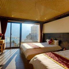 Phuong Nam Mountain View Hotel 3* Стандартный номер с различными типами кроватей фото 12