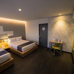Hotel Perla Central 3* Стандартный номер с различными типами кроватей фото 5