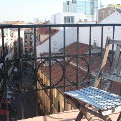 Отель Hostal Abril Стандартный номер с различными типами кроватей фото 5