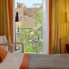 Отель Herodion Athens 4* Улучшенный номер с двуспальной кроватью