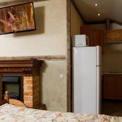Гостиница Теремок Заволжский Апартаменты разные типы кроватей фото 15