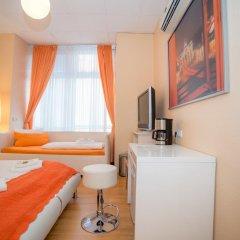 Отель City Guesthouse Pension Berlin 3* Стандартный номер с разными типами кроватей фото 11