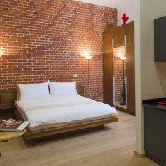 Дизайн-отель Brick 4* Люкс с различными типами кроватей фото 23
