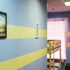 Мини-Отель Компас Кровать в общем номере с двухъярусной кроватью фото 16