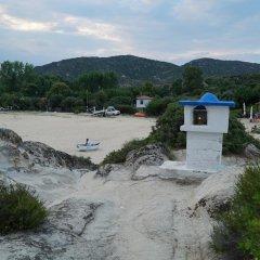 Отель Ammos Kalamitsi пляж
