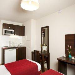 Отель Séjours et Affaires Paris Malakoff 2* Студия с различными типами кроватей фото 14