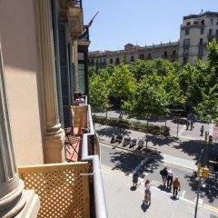 Отель Hostalin Barcelona Gran Via 3* Стандартный номер с различными типами кроватей фото 3