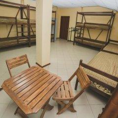 Хостел Гавань Кровать в женском общем номере с двухъярусной кроватью