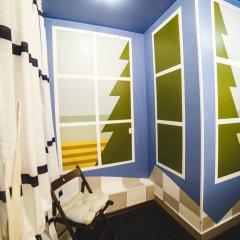 Art Hostel Contrast Стандартный номер с 2 отдельными кроватями (общая ванная комната)