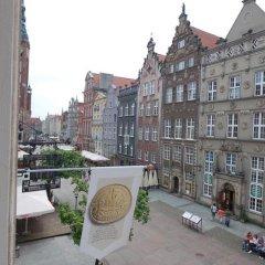 Отель Apartamenty Szlachecki i Pod Artusem Гданьск балкон