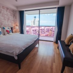 Отель Rocco Huahin Condominium Апартаменты с 2 отдельными кроватями фото 26