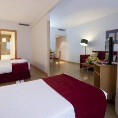 Отель Aparto Suites Muralto Улучшенные апартаменты с различными типами кроватей фото 8