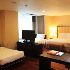 Ramada Hotel and Suites Seoul Namdaemun 4* Стандартный семейный номер с двуспальной кроватью фото 4