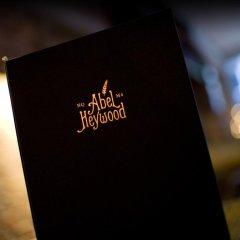 Abel Heywood Boutique Hotel развлечения