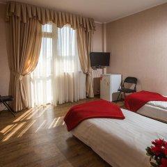 Гостевой дом Золотая Рыбка комната для гостей фото 2