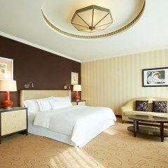Отель The Westin Valencia 5* Номер Делюкс с разными типами кроватей фото 4