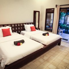 Отель Bale Sampan Bungalows 3* Стандартный номер с 2 отдельными кроватями фото 10