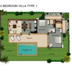 Отель Alanta Villa 4* Вилла с различными типами кроватей фото 9