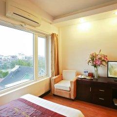 Hue Serene Shining Hotel & Spa 3* Представительский номер с различными типами кроватей фото 4