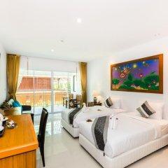 Курортный отель Lamai Coconut Beach 3* Улучшенный номер с различными типами кроватей фото 8