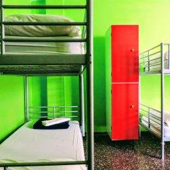 Yellow Nest Hostel Barcelona Кровать в общем номере с двухъярусной кроватью фото 2