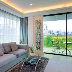 Отель Rocco Huahin Condominium Люкс с различными типами кроватей фото 24