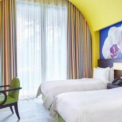Resorts World Sentosa - Festive Hotel 5* Номер Делюкс с различными типами кроватей фото 3
